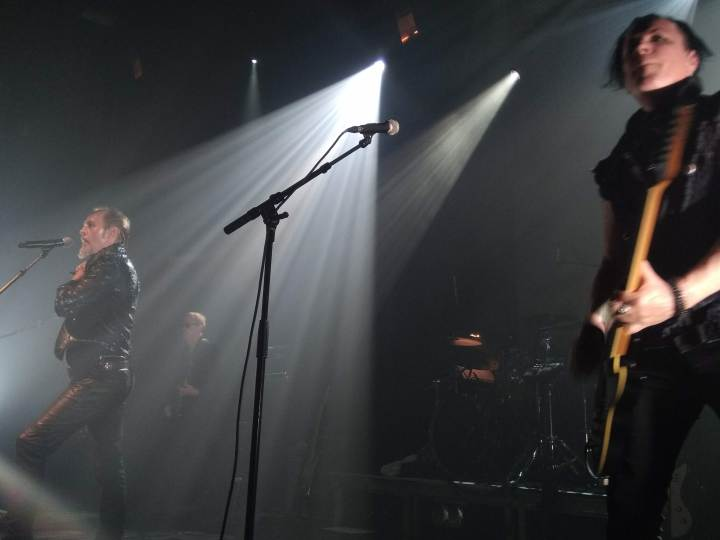(live report): Peter Murphy 40 years of Bauhaus feat. David J. @Bataclan (Paris, 14 novembre 2018)