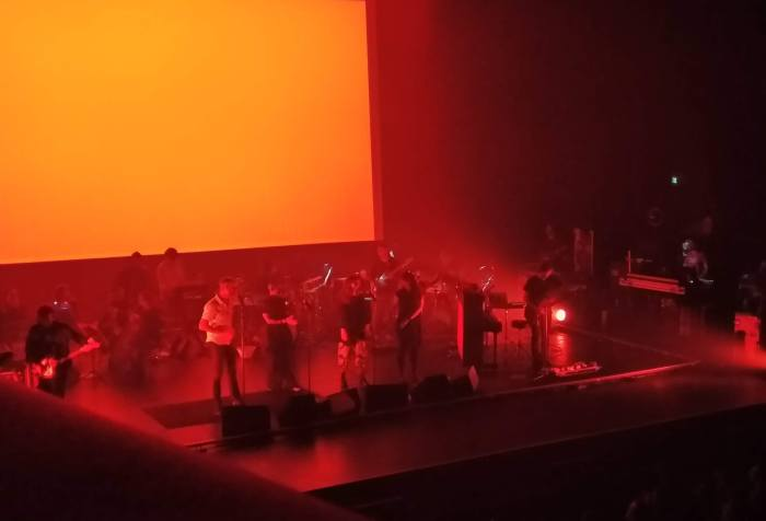 One week with the National