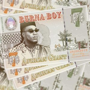 Burna Boy, African Giant